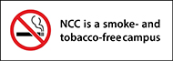 NCC is a tobacco-free campus
